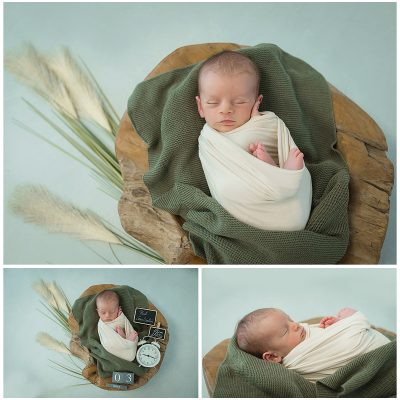 Newbornshooting mit Paul
