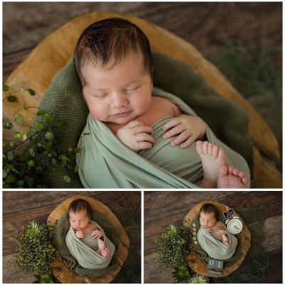 Newbornshooting mit Oskar